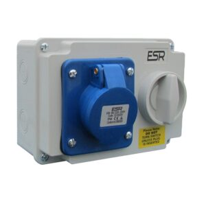 Industrial Switched Interlocked Sockets