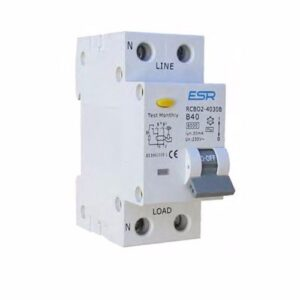 B Curve Double Pole RCBO