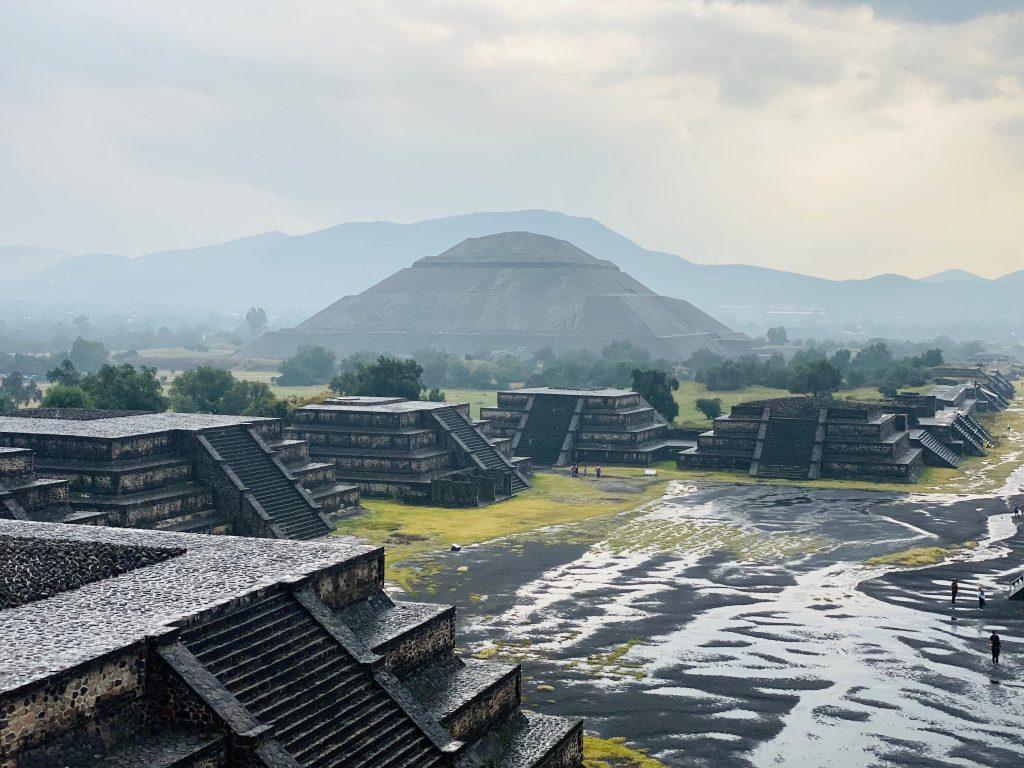 Vistas Teotihuacán Pirámide de la Luna