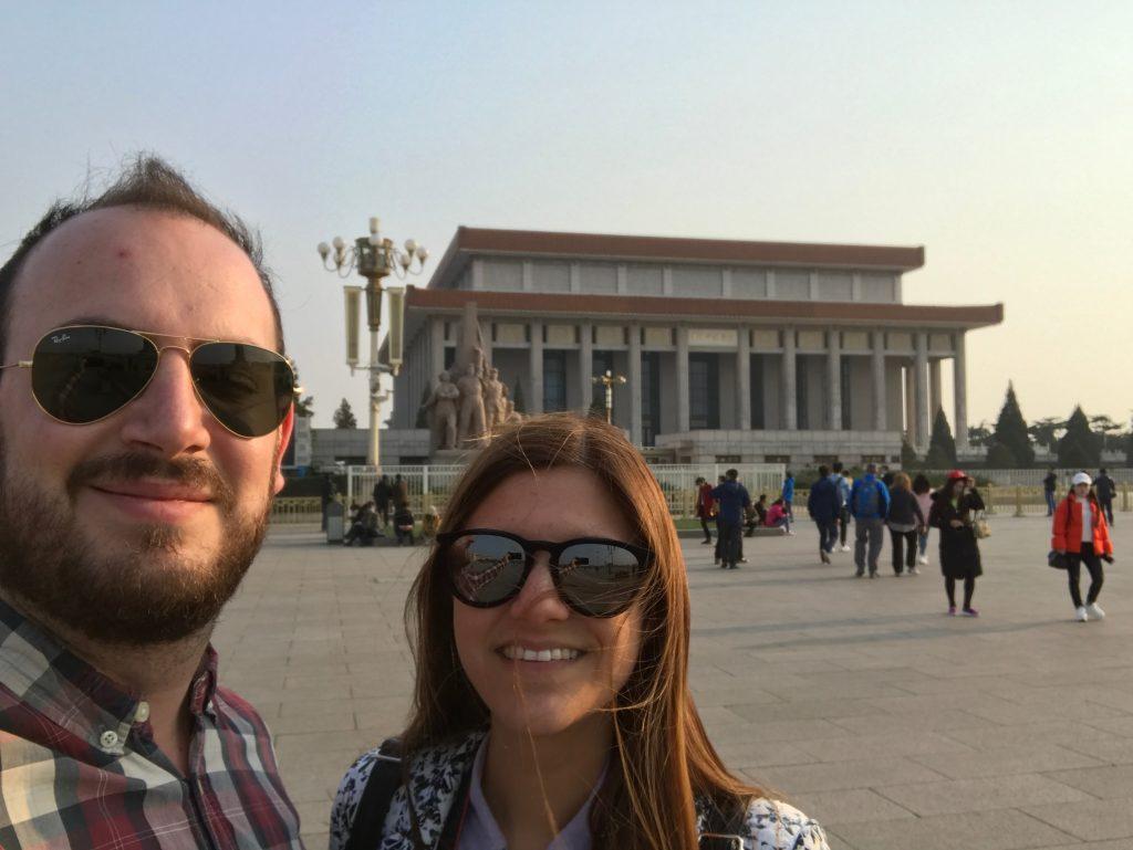 Mausoleo de Mao Zedong en Plaza Tianmén