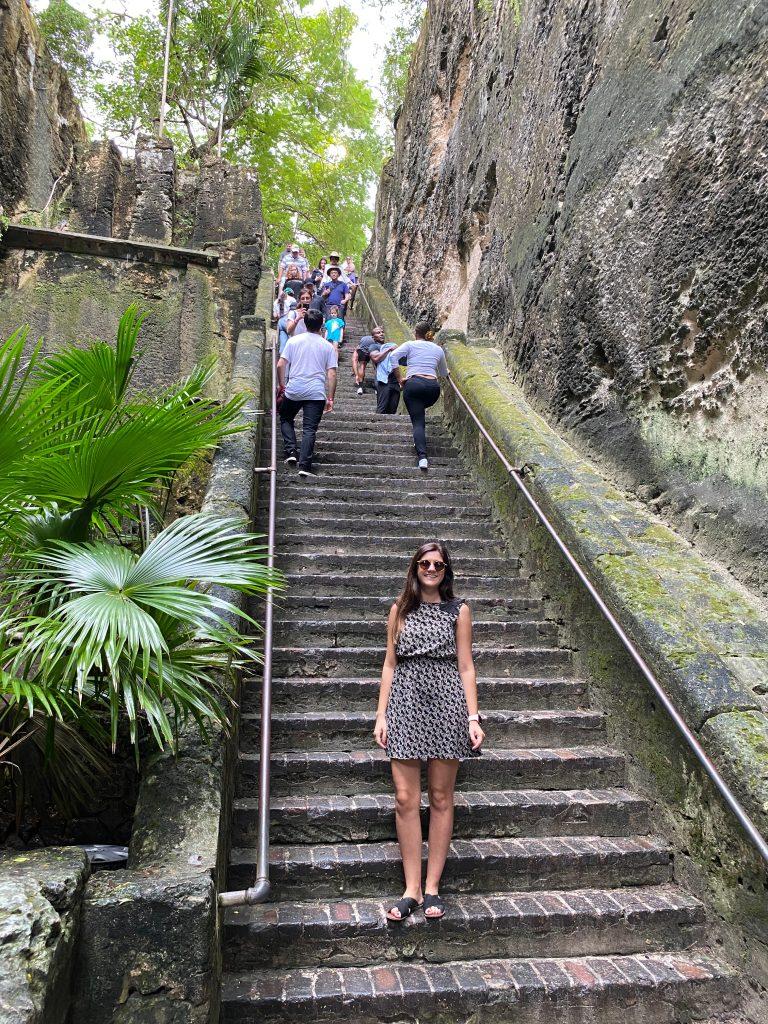 Escaleras de la Reina