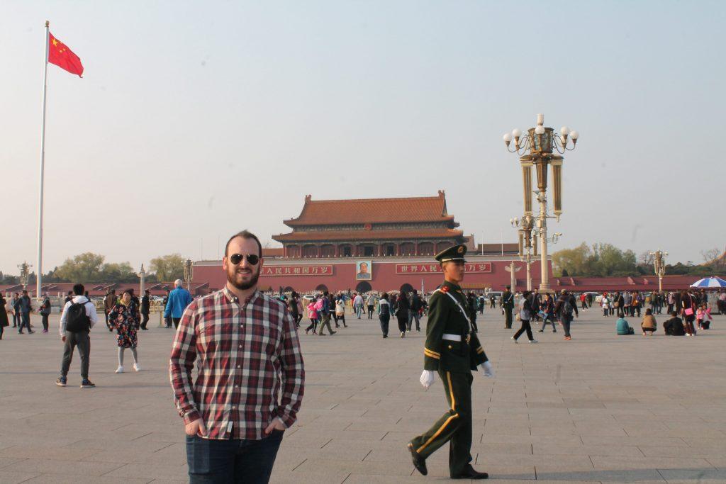 Palacio Presidencial en la plaza de Tianmén