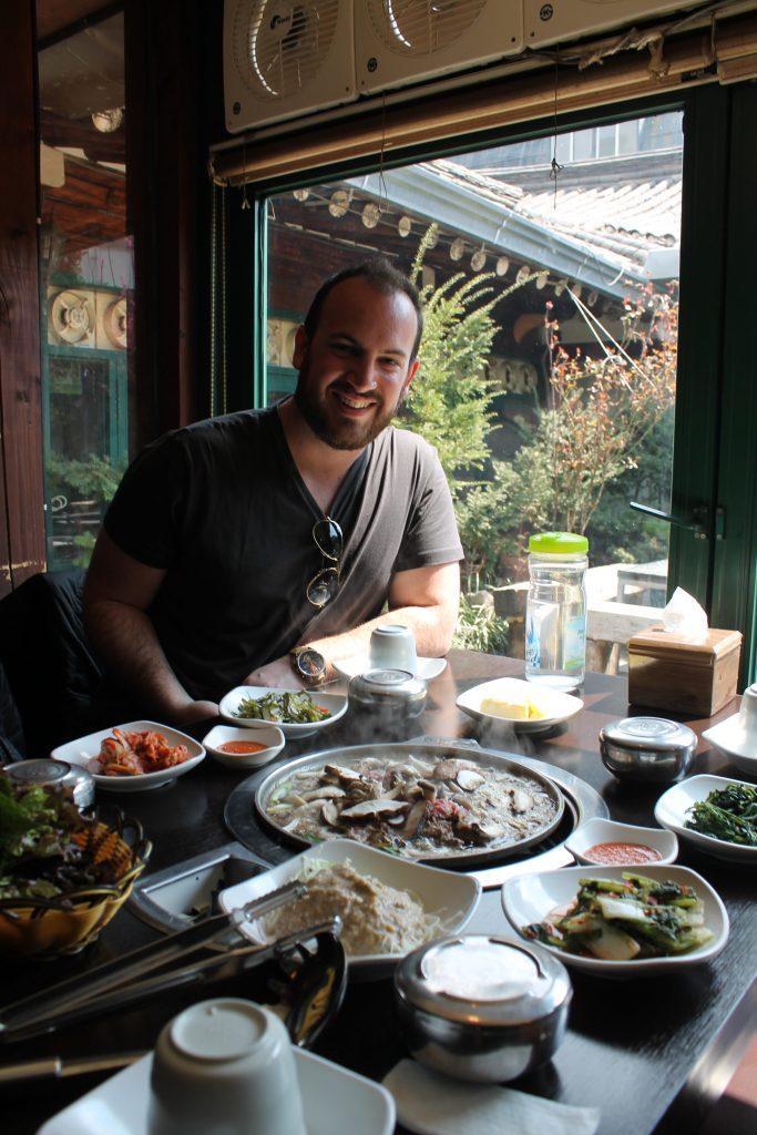 Restaurante coreano
