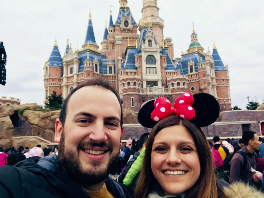 Josh and Sonia Shanghai Disney Resort