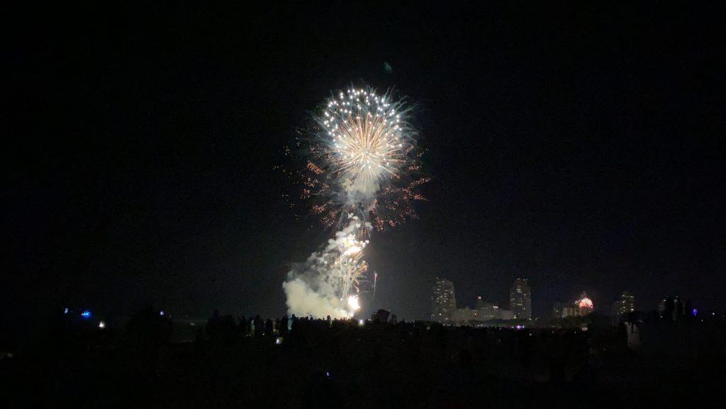 Fireworks Ocean Drive