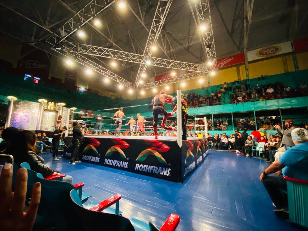 Estadio Lucha libre