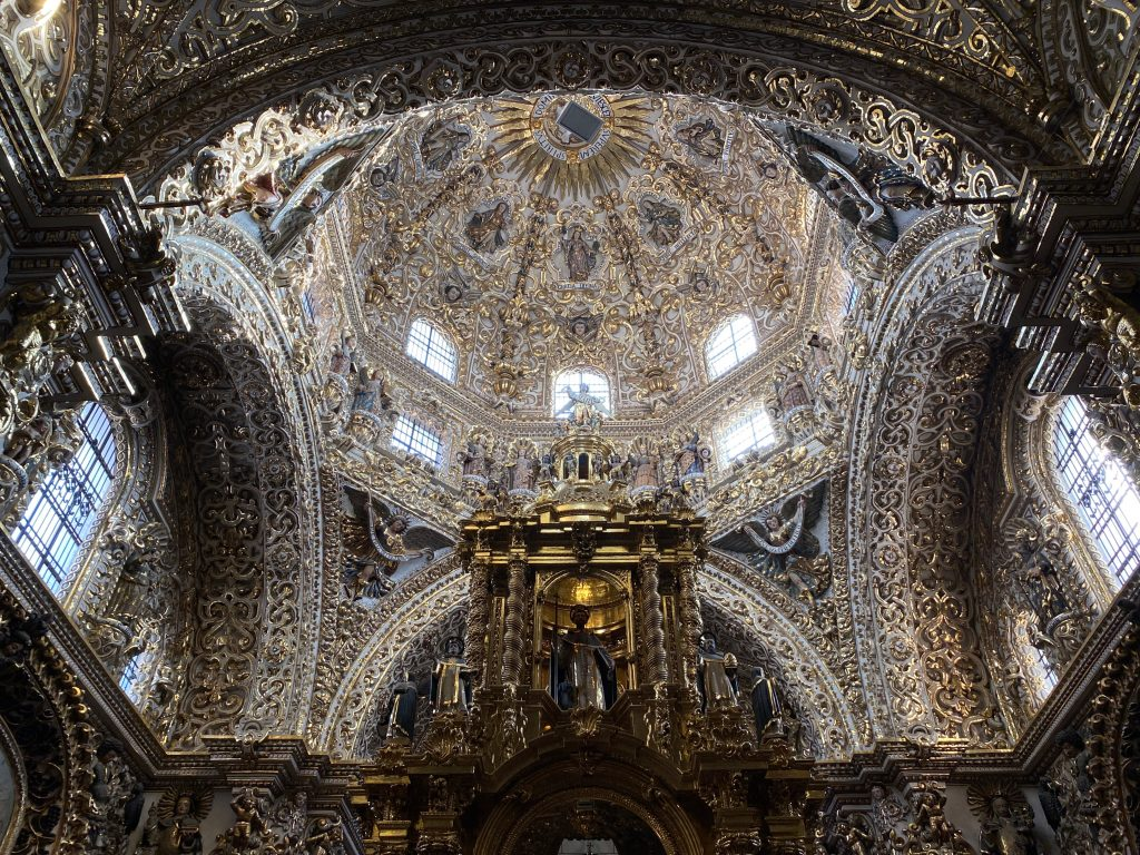 Iglesia del Rosario Centro Puebla