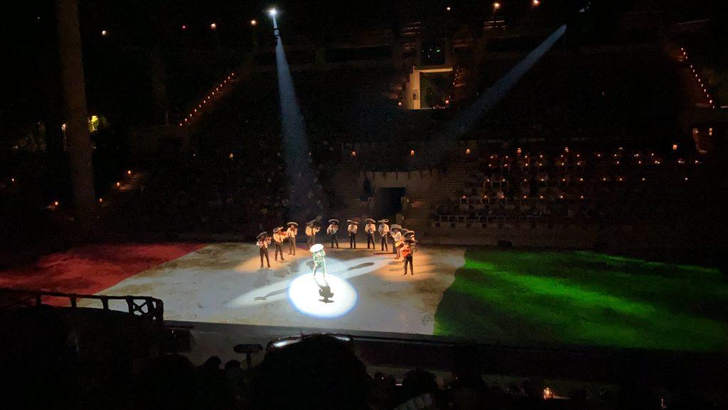 Show Historia de México XCaret