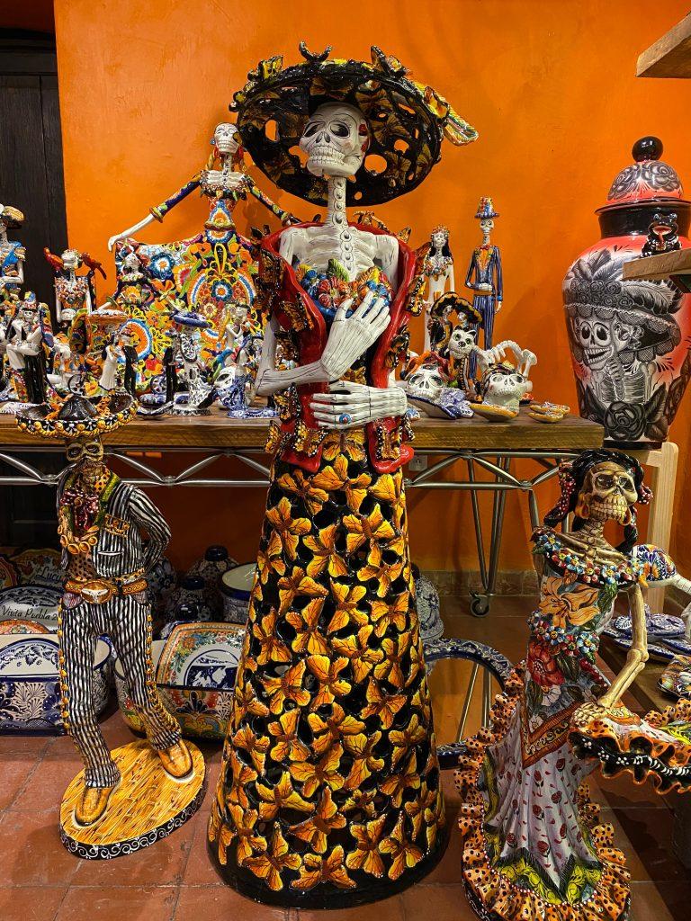 Cerámica de Talavera en Puebla