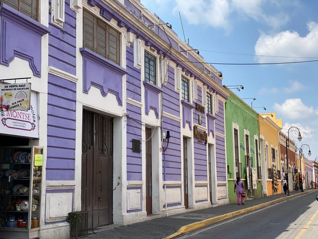 Calles de Cholula