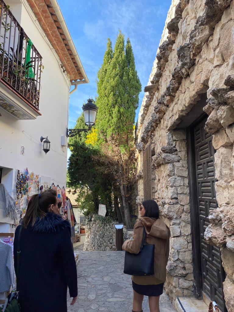 Paseando por Guadalest