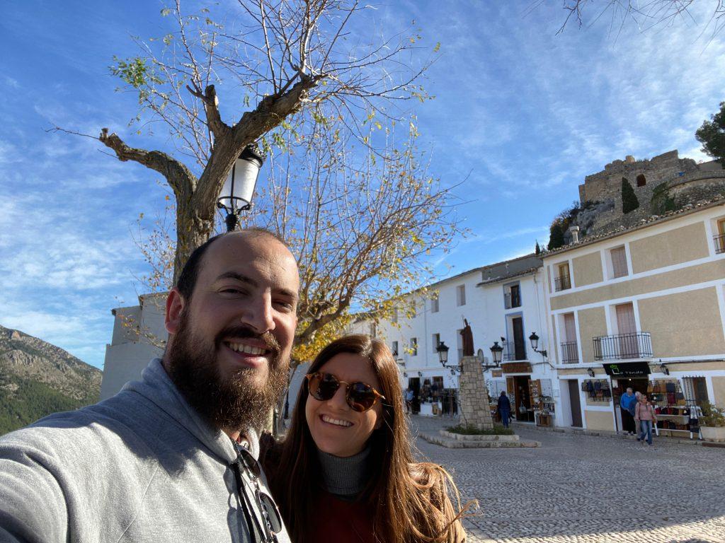 Plaza castillo Guadalest