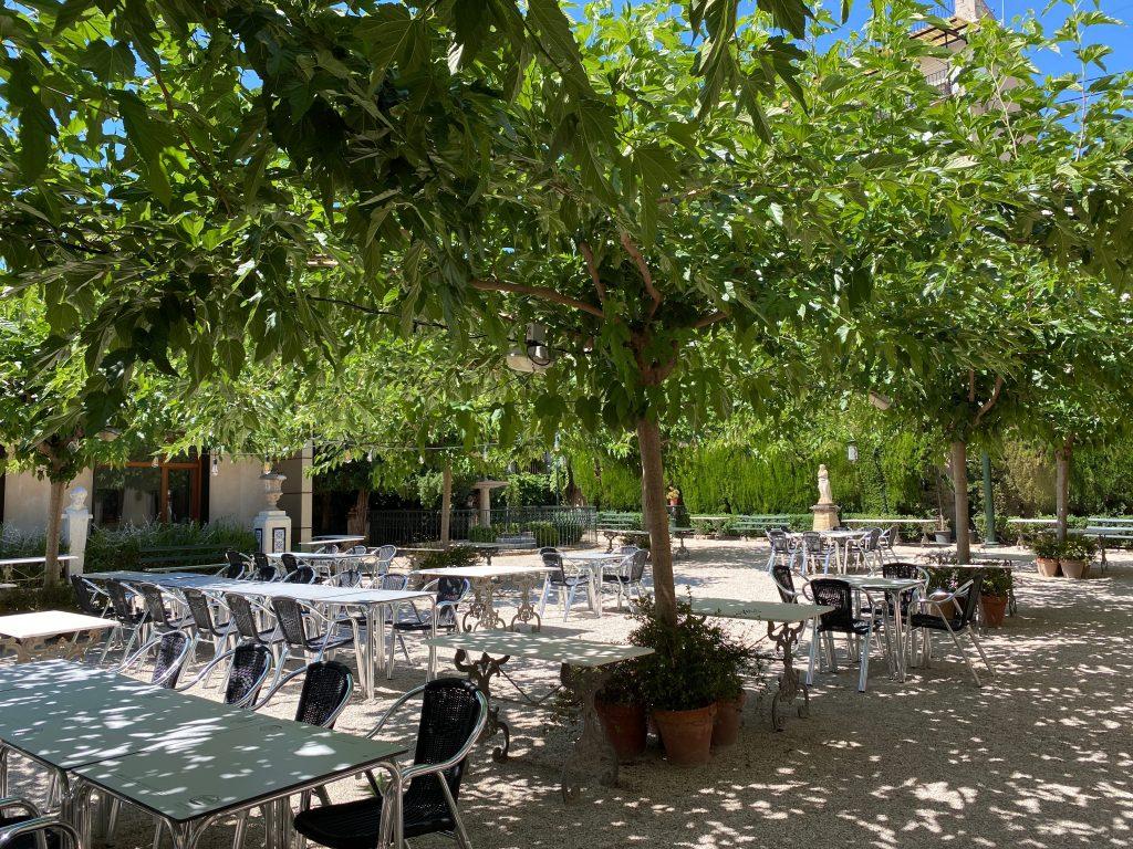 Jardín romántico del Círculo Industrial