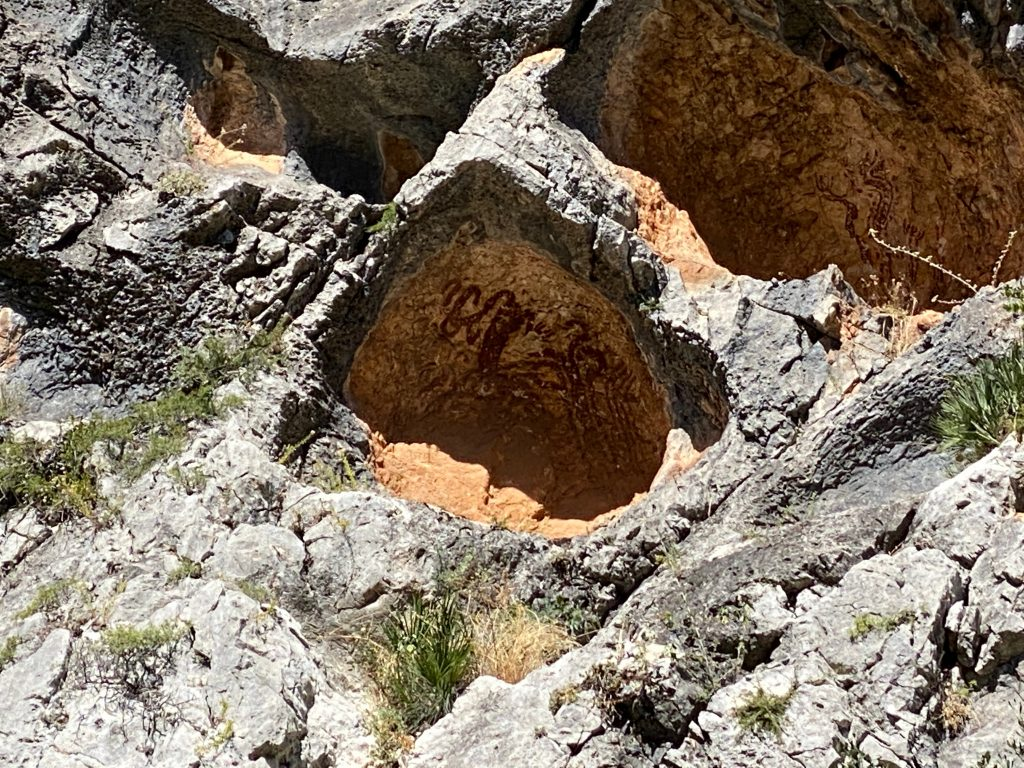 Pinturas rupestres Petracos