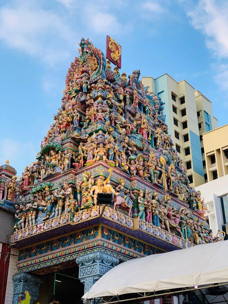 Exterior del templo