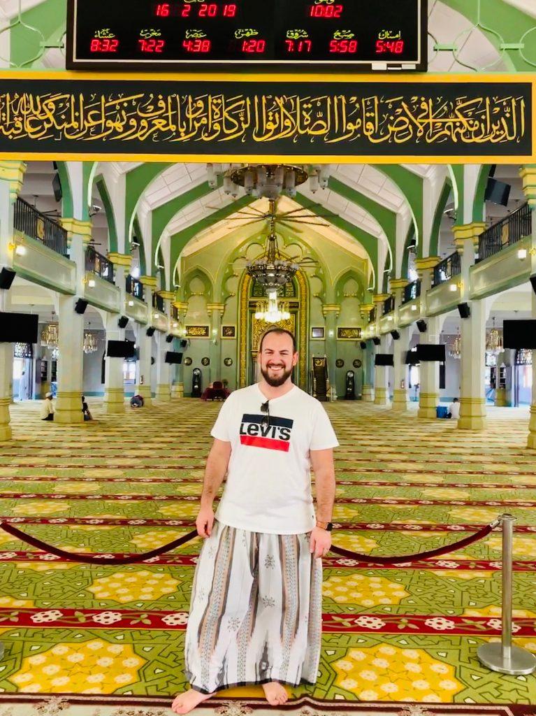 Interior mezquita Singapur