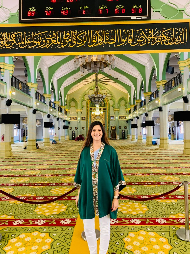Interior Mosque Singapore
