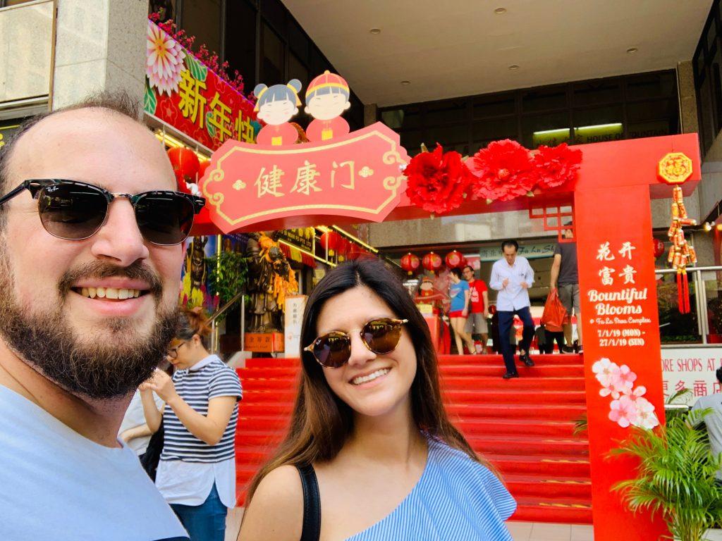 Mercado chino en Singapur
