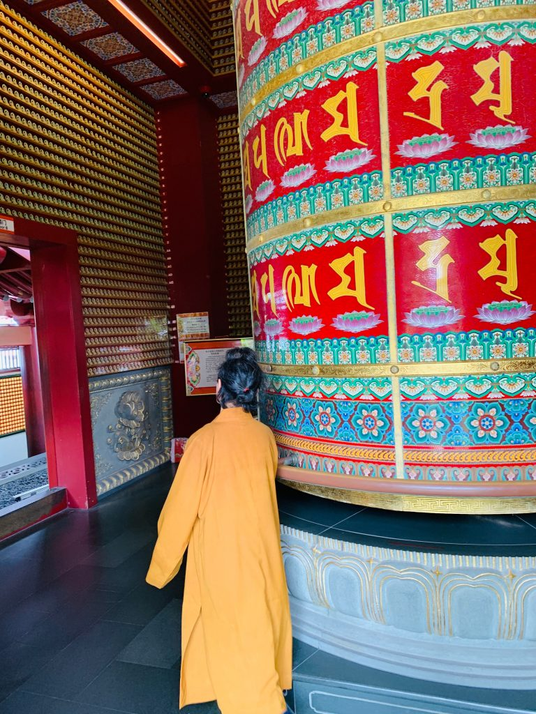 Buddha tooth relic temple bell