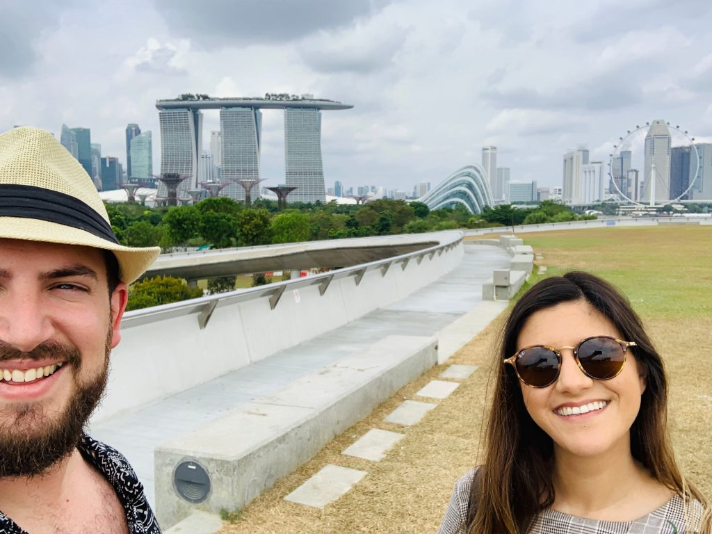 Views from the Marina Barrage