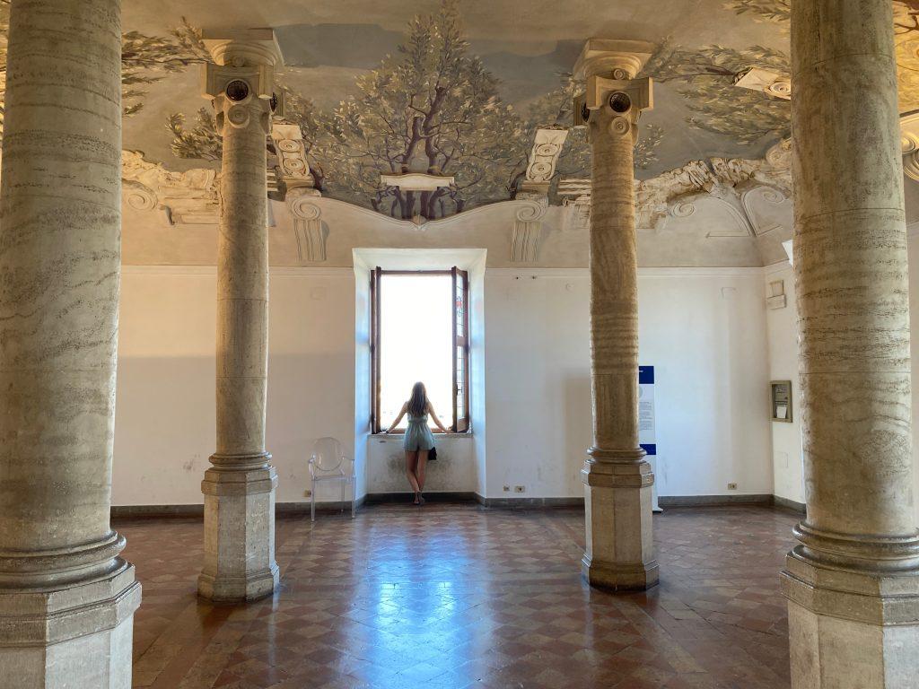 Sala del Castillo de San Ángelo