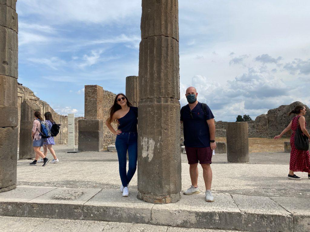 Visitando Pompeya