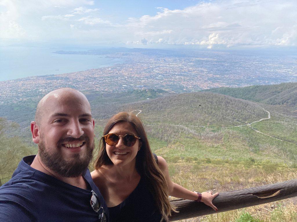 Vistas desde el Vesubio