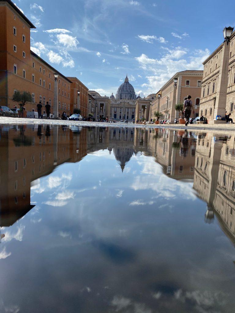 Vistas de la Plaza de Vaticano