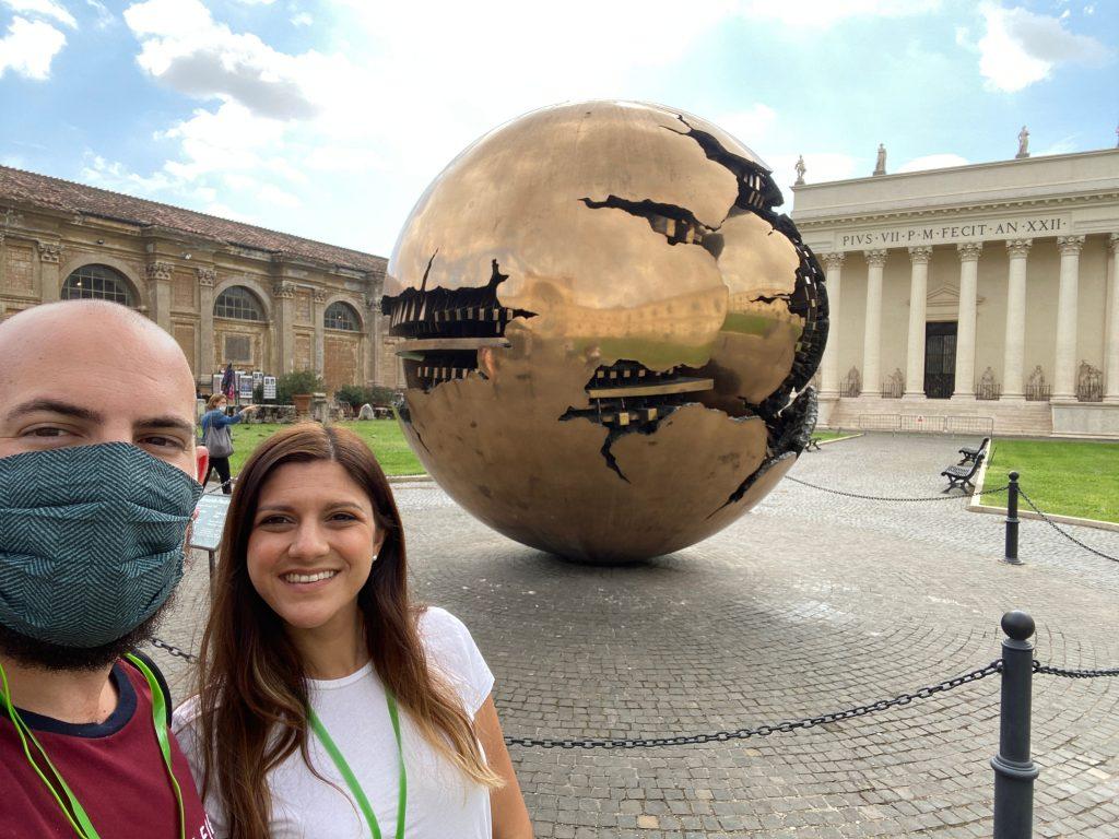 Entrada al Museo del Vaticano