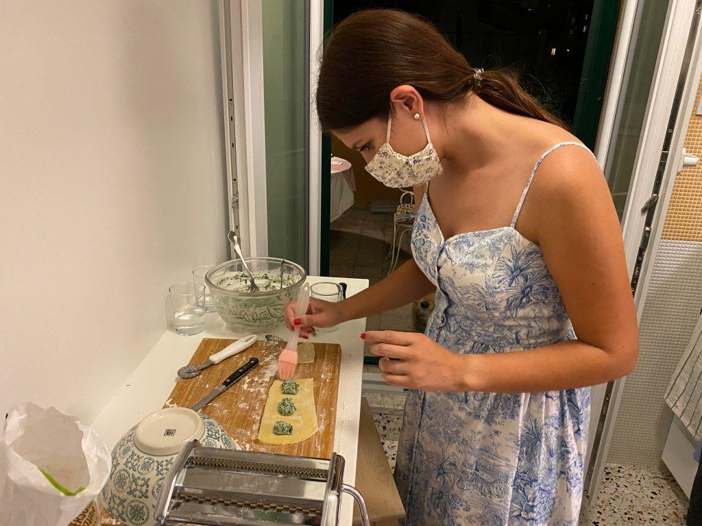 Preparando Pasta Fresca