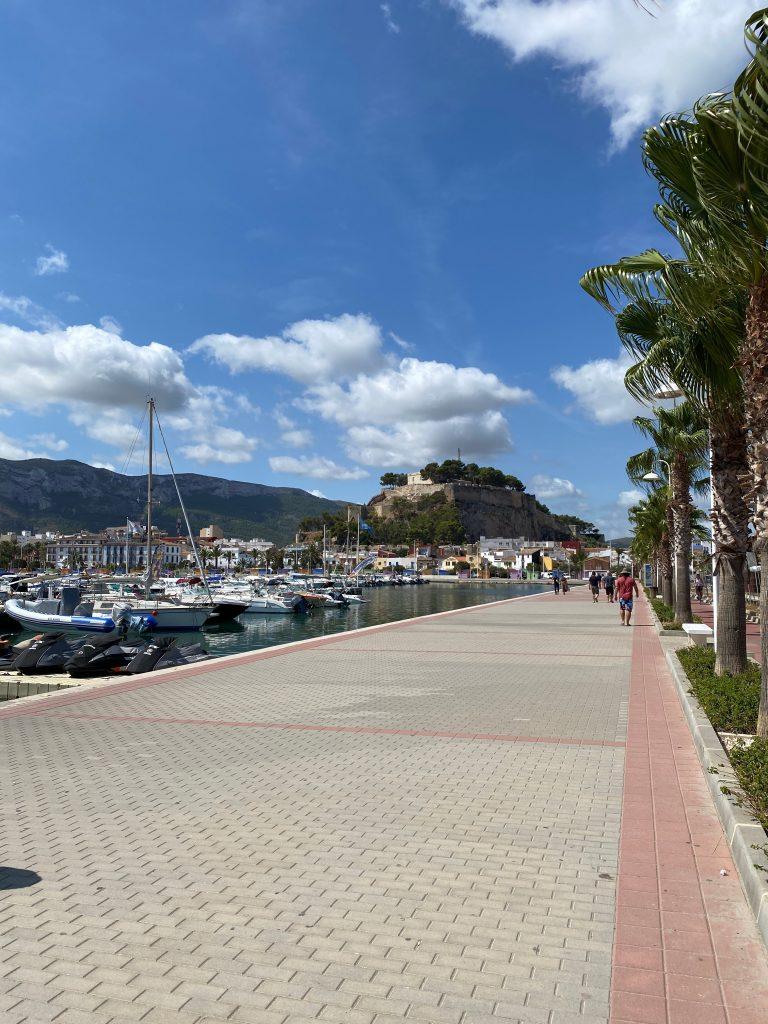 Puerto y Castillo de Denia