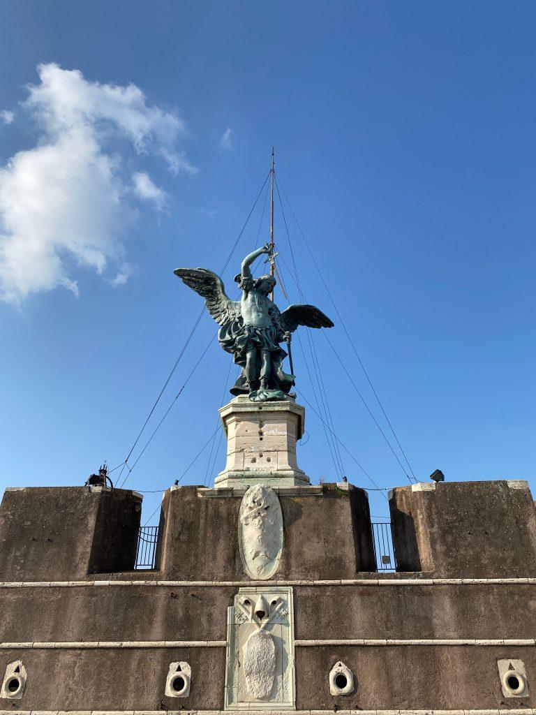 Ángel del Castello di Sant'Angelo