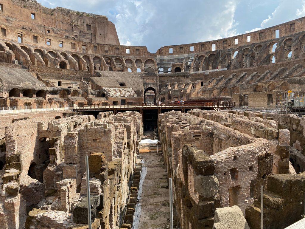 Jaulas del Coliseo