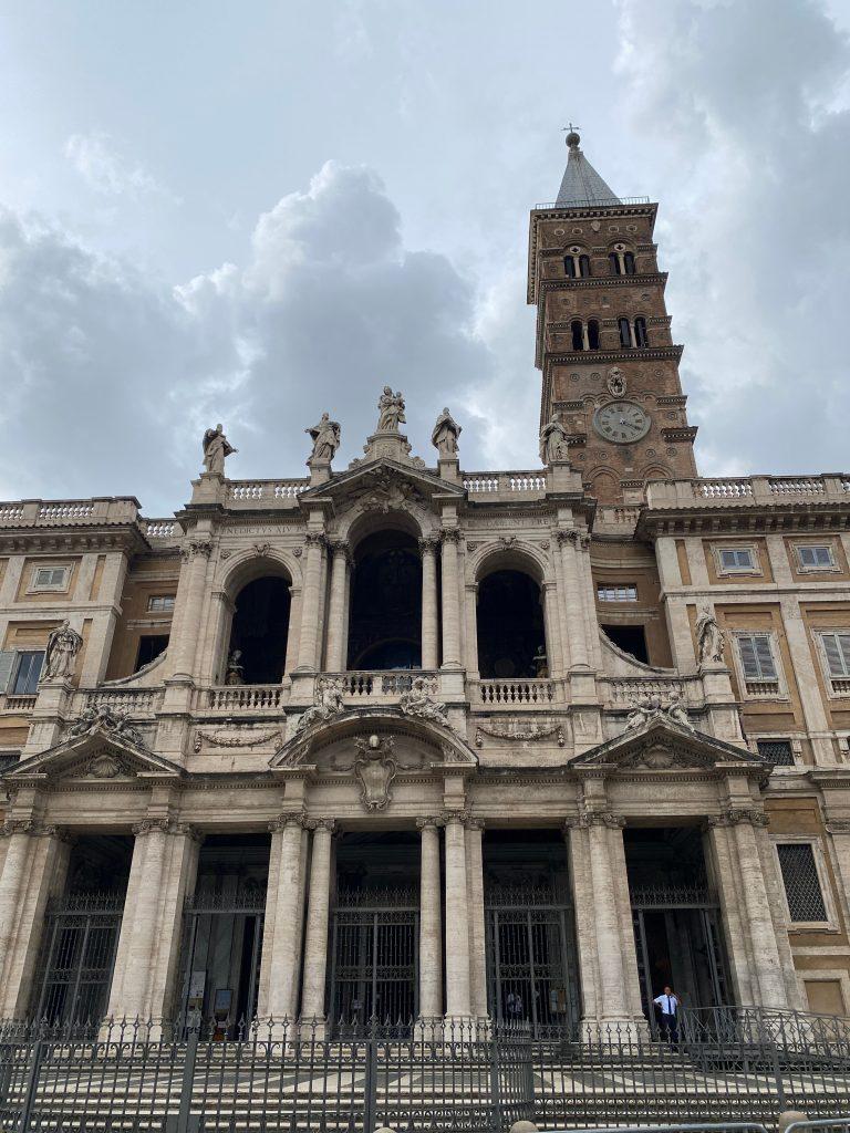 Parte trasera Basílica de Santa Maria Maggiore