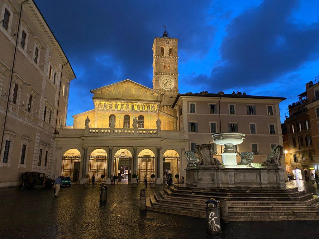 Basílica de Santa María de Trastevere