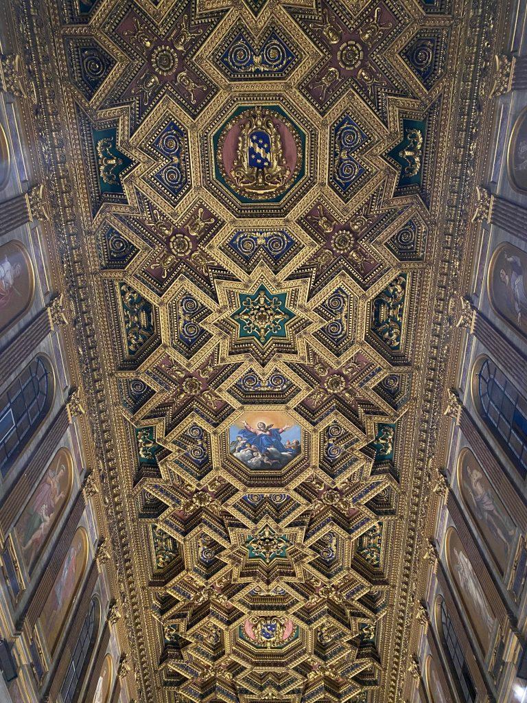 Techo de Basílica de Santa María de Trastevere
