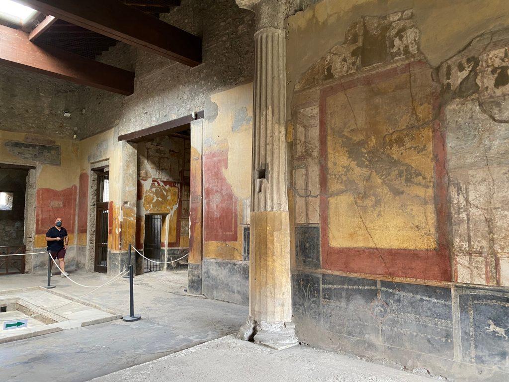Menandro's house Pompei