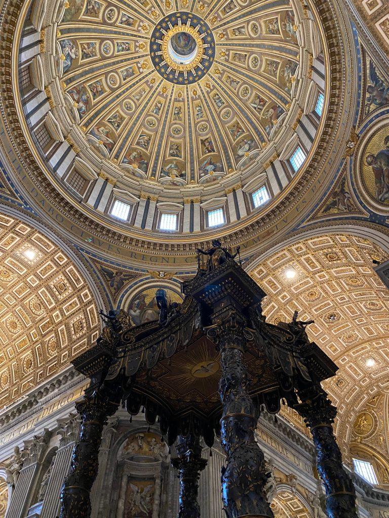 Techo de la Basílica de San Pedro