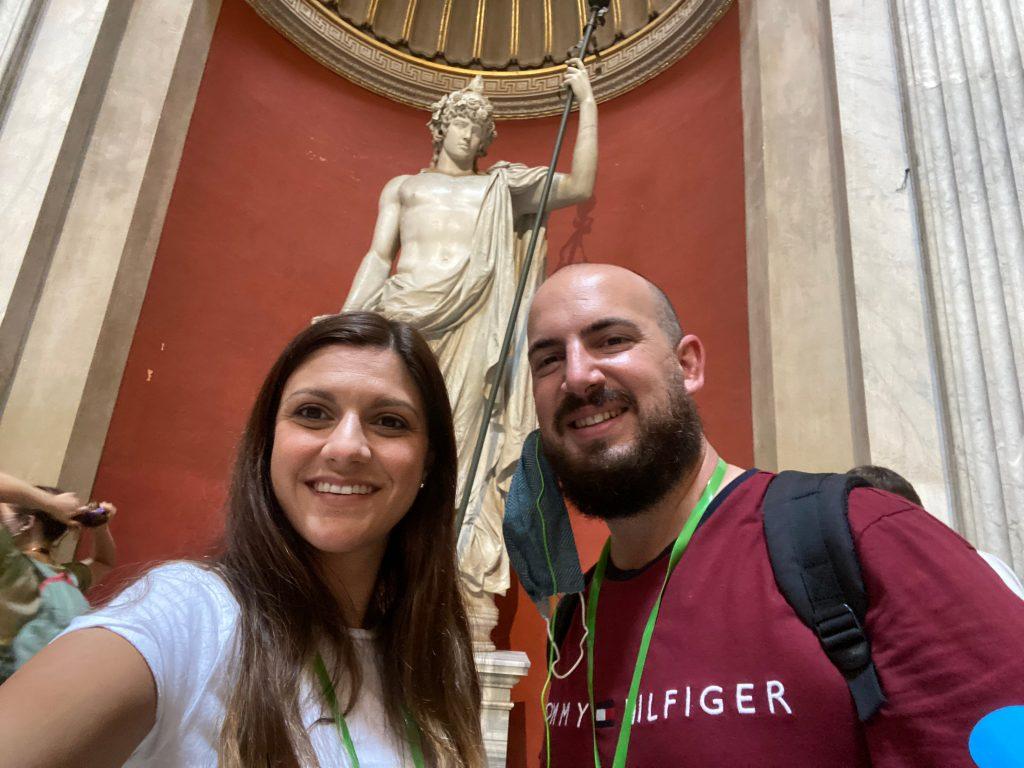 Adriano en el Museo del Vaticano
