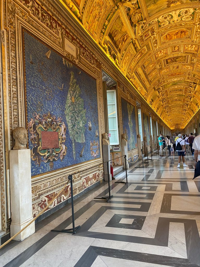 Sala de los Mapas Vaticano