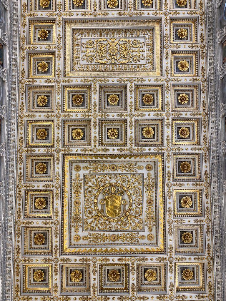 Techo de la Basílica de San Pablo de Extramuros