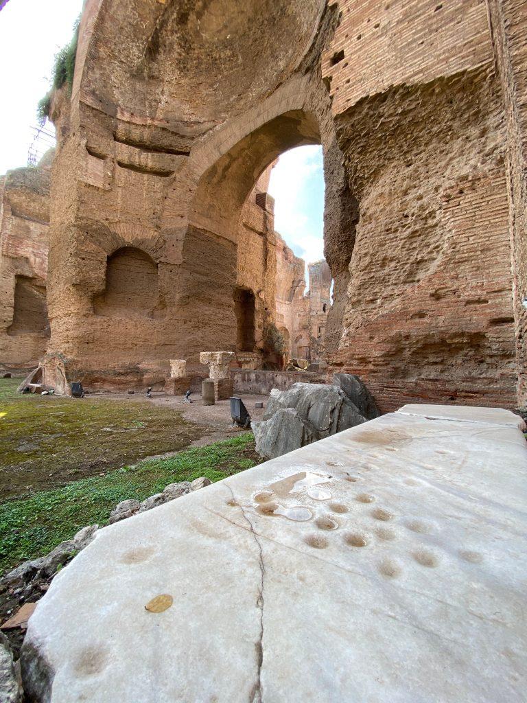 Piscina de las Termas de Caracalla