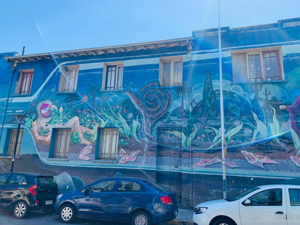 Graffiti Yungay