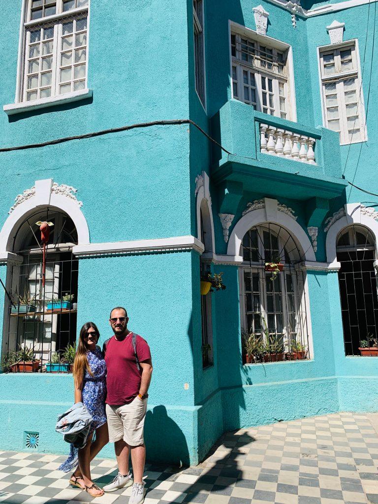 Casa azul Yungay