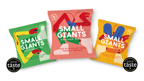 Small Giants Crisp packets