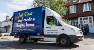 Just Clear van