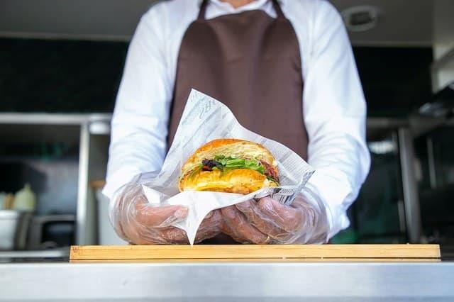 Vegtable burger