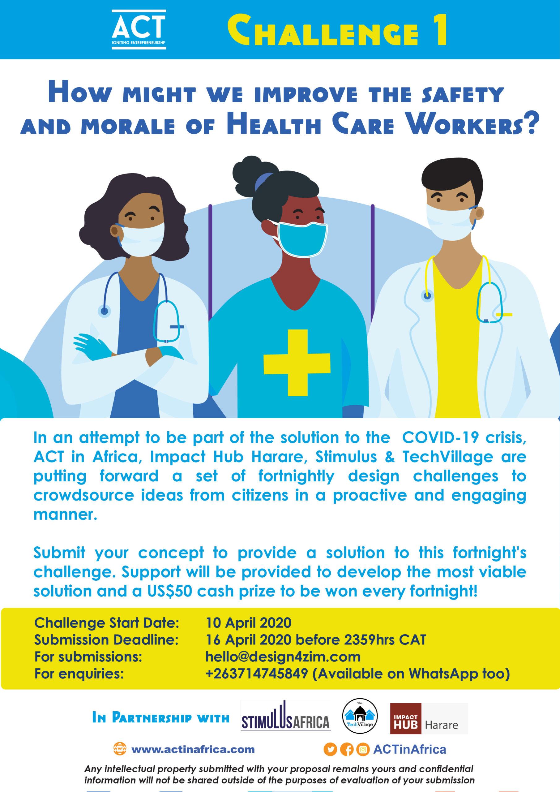ACT Health Challenge Poster 01
