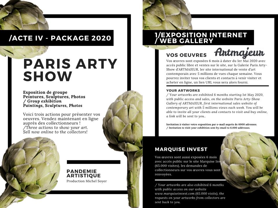 Brochure exposition digitale