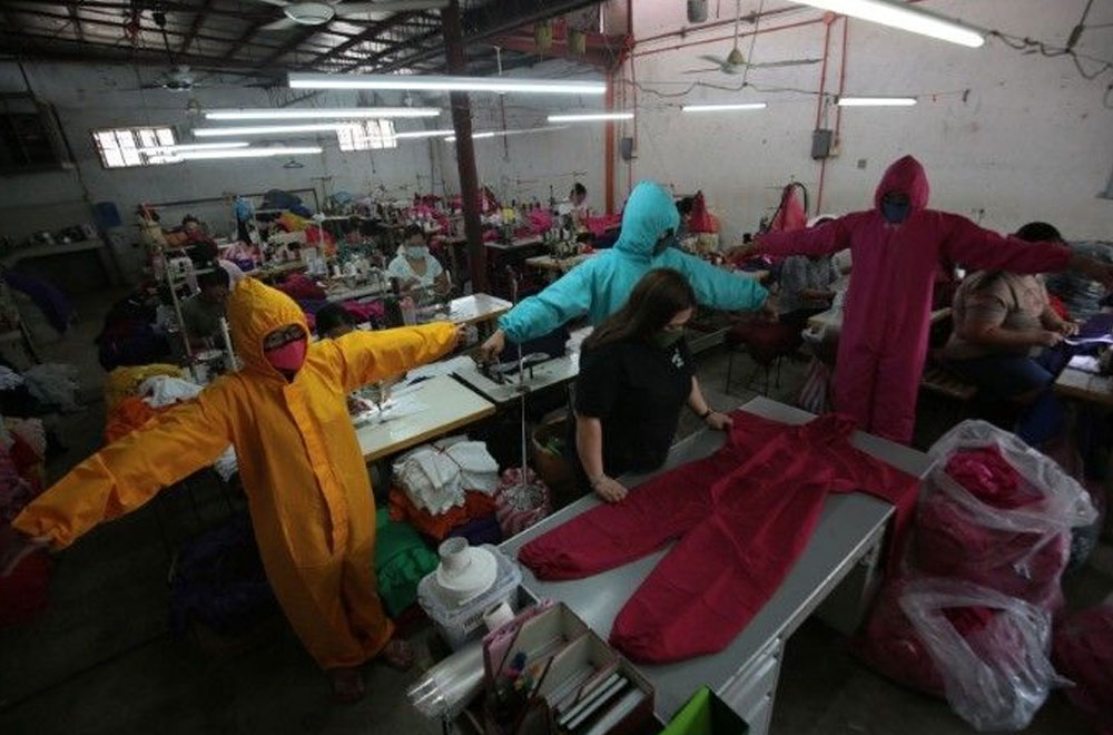 Gov't urged to buy locally-made PPEs to protect health workers, help businesses